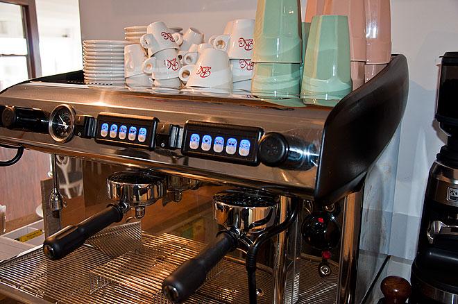 Café Smyge caffé latte, cappuccino, espresso m.m.